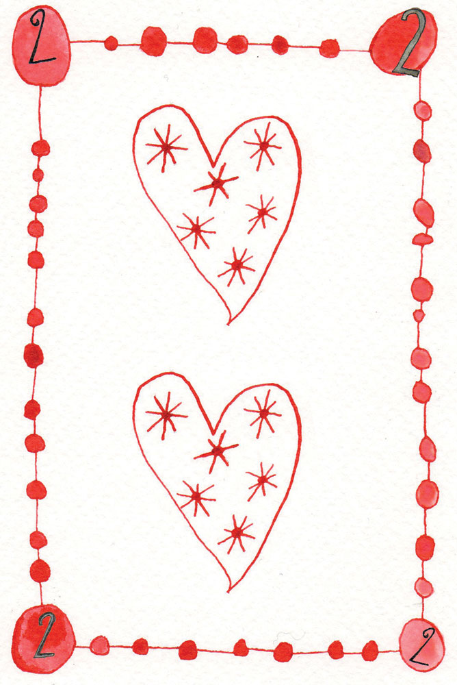 2 of hearts