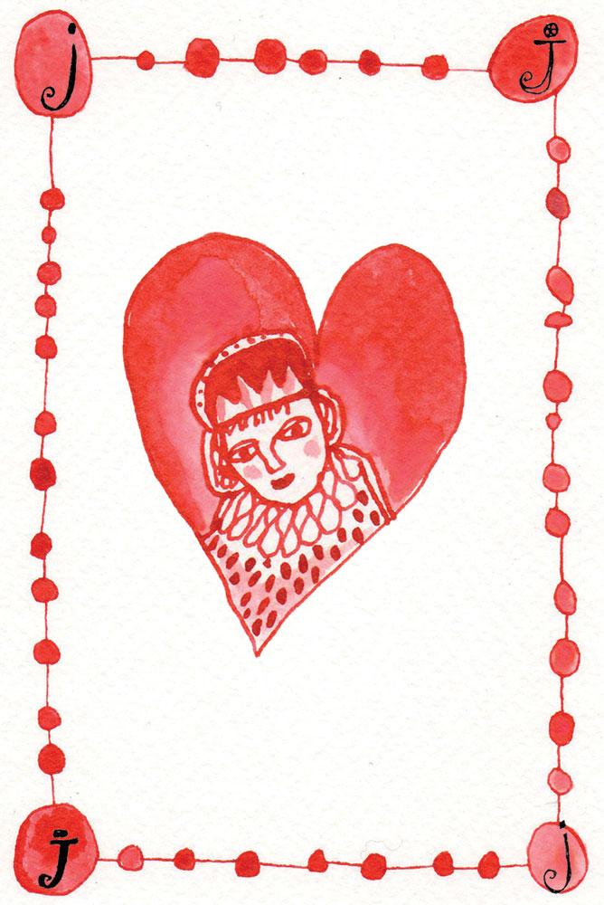 J of hearts